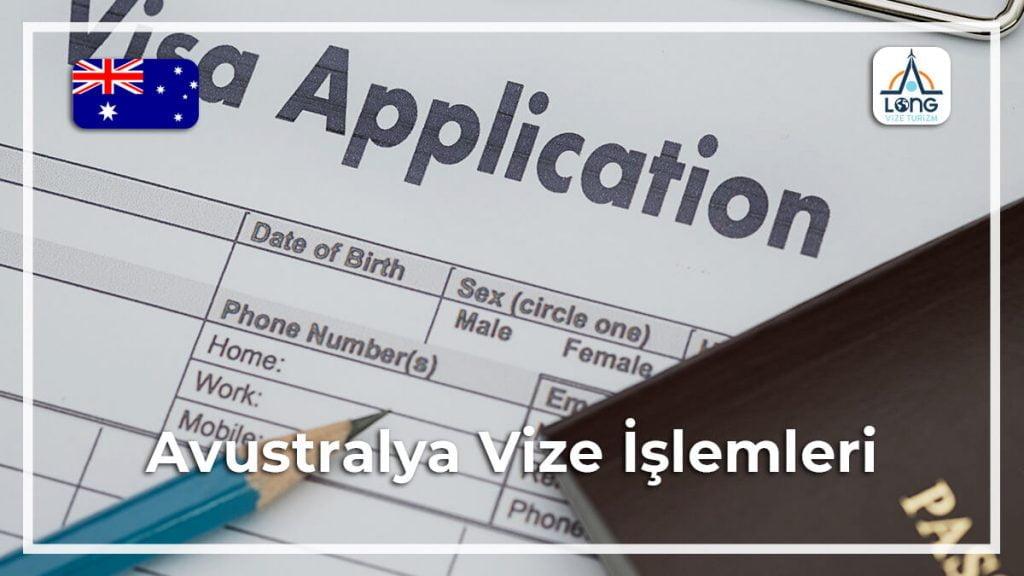 İşlemleri Vize Avustralya