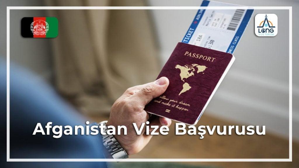 Vize Başvurusu Afganistan