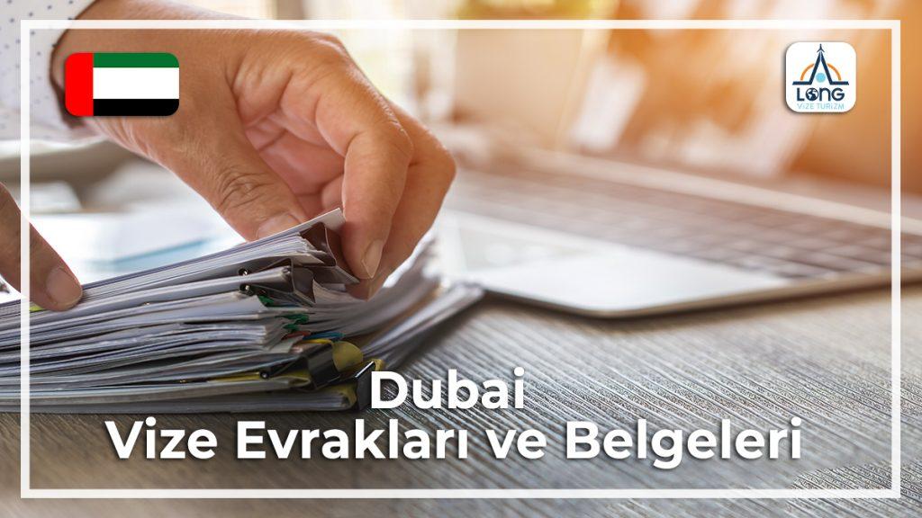 Vize Evrakları Ve Belgeleri Dubai