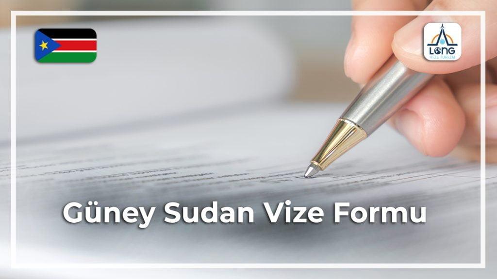 Vize Formu Güney Sudan