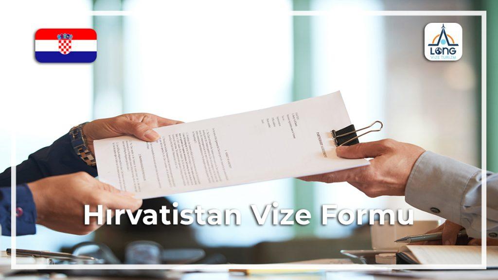 Vize Formu Hırvatistan