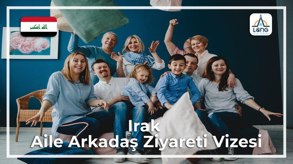 Aile Arkadaş Ziyareti Vizesi Irak