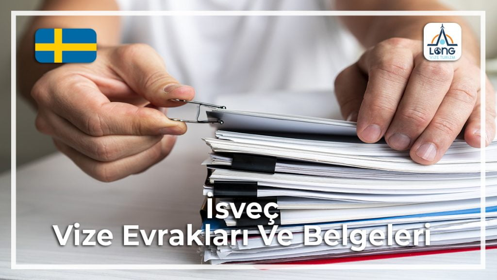 Vize Evrakları Ve Belgeleri İsveç