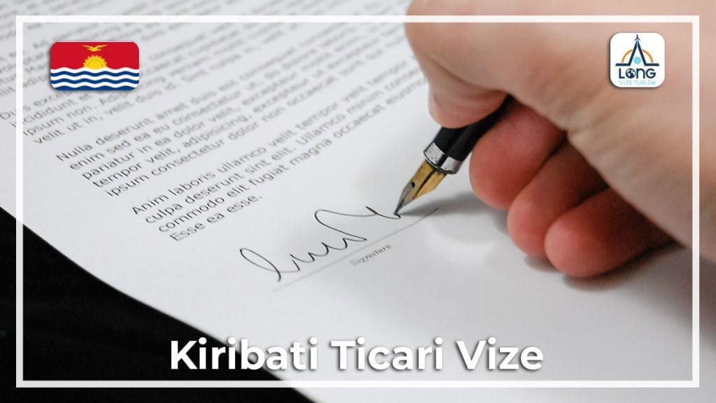 Ticari Vize Kiribati