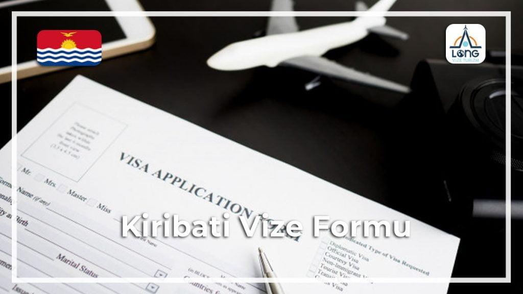 Vize Formu Kiribati