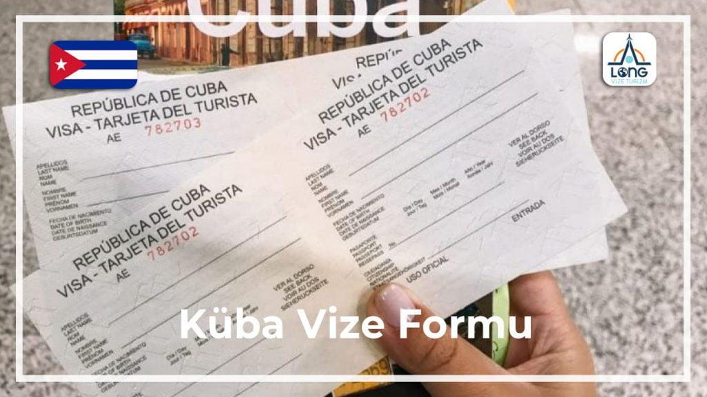 Formu Vize Küba