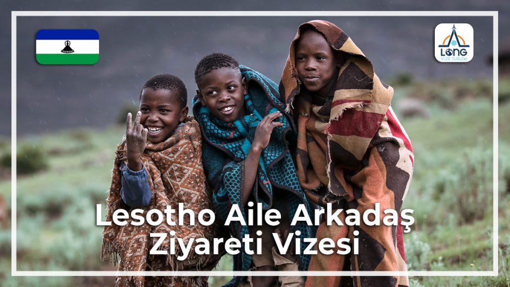 Aile Arkadaş Ziyareti Vizesi Lesotho