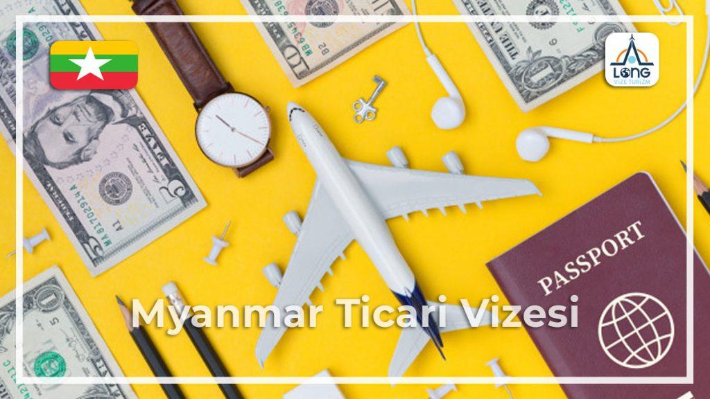 Ticari Vize Myanmar