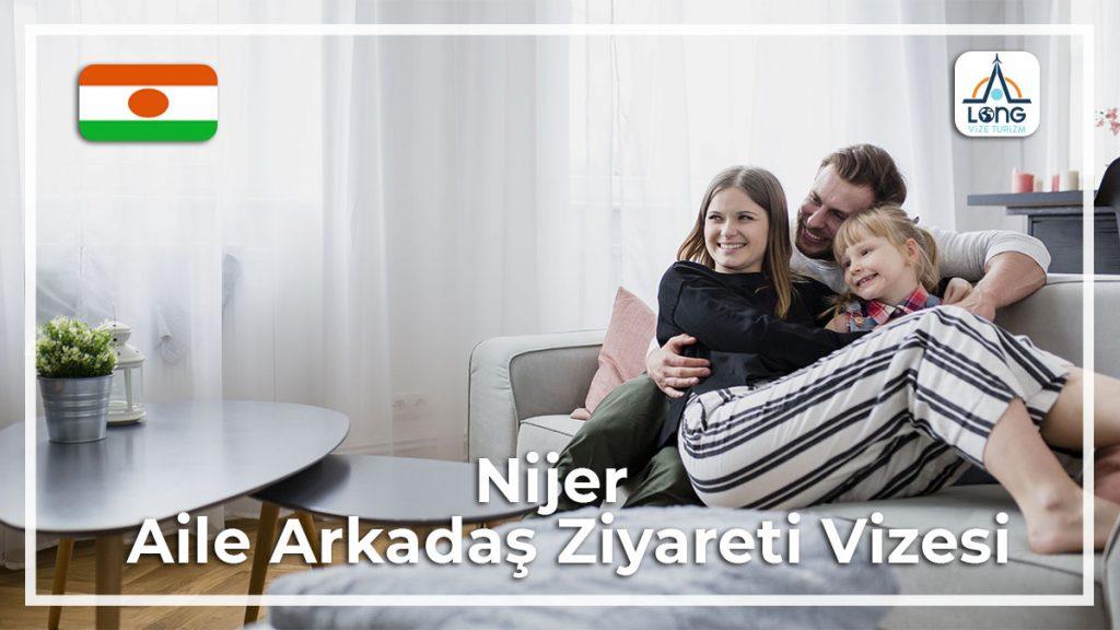 Aile Arkadaş Ziyareti Vizesi Nijer