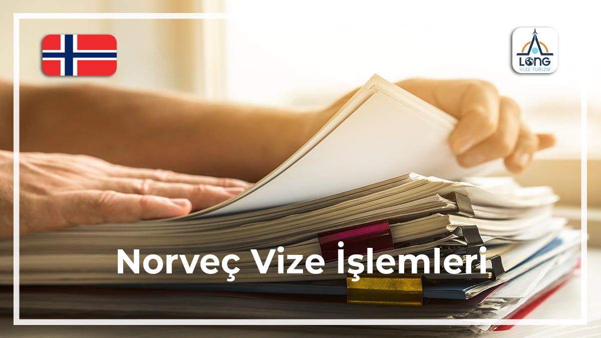 Norveç Vize Şartları