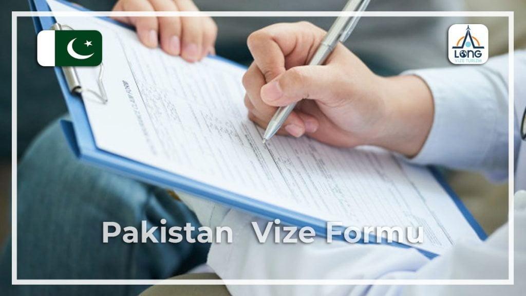 Vize Formu Pakistan