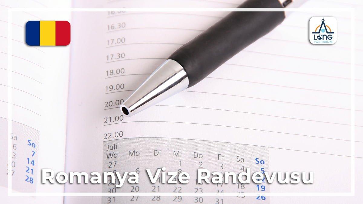 Romanya Vize Randevusu