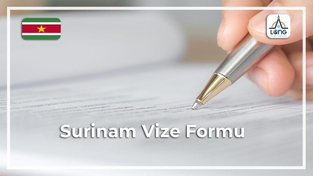 Vize Formu Surinam