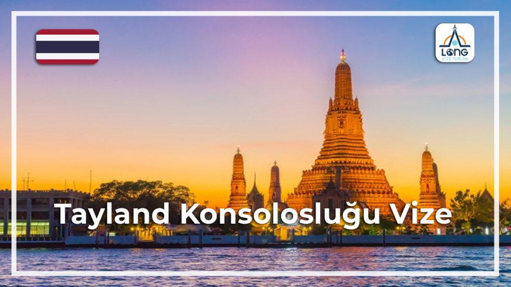 Konsolosluğu Vize Tayland