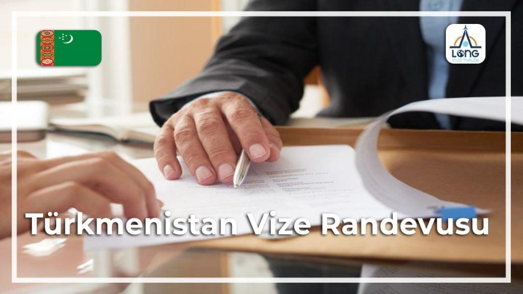 Randevusu Vize Türkmenistan