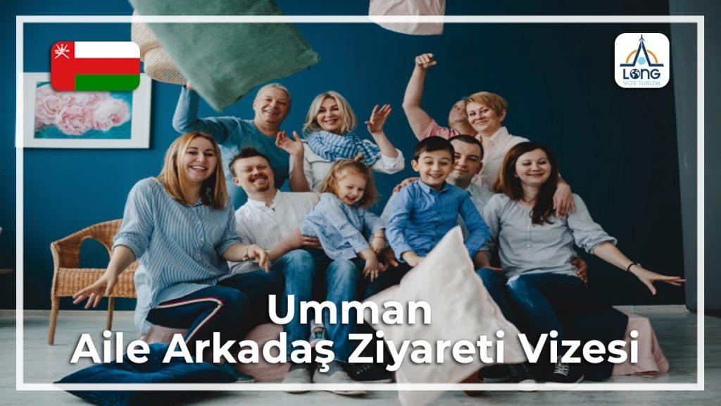 Aile Arkadaş Vizesi Ziyareti Umman