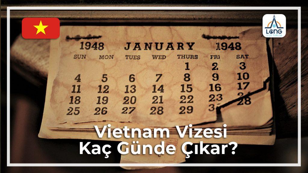 Vizesi Kaç Günde Çıkar Vietnam