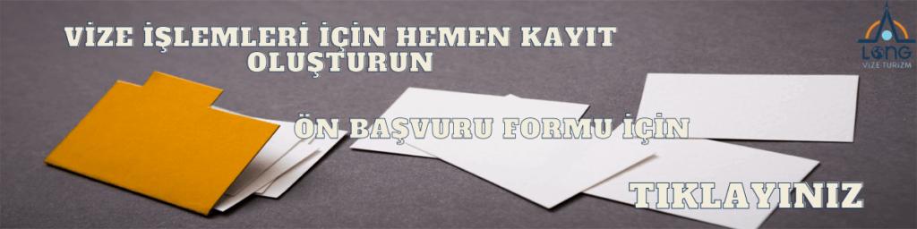 Banner Ön Bilgi Formu